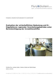 F3-Evaluation-Verarbeitung